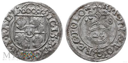Półtorak 1618 Bydgoszcz (ciekawe ozdobniki)