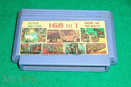 Duże zdjęcie 168 in 1 SUPER MULTI-GAME Kartridż Gra Pegasus