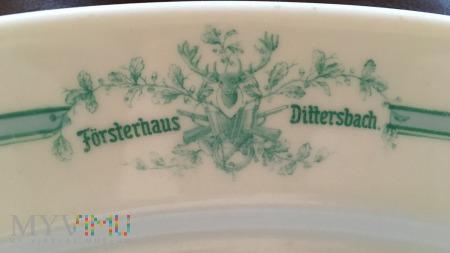 Półmisek z restauracji hotelu Försterhaus