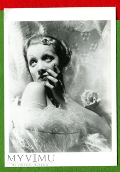 Marlene Dietrich foto Cecil Beaton pocztówka