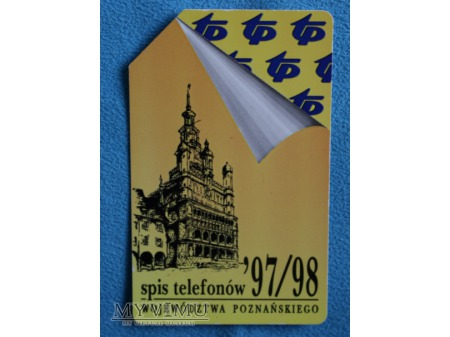 Spis telefonów woj.Poznańskiego 97/98
