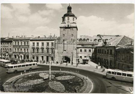 Lublin - 1972 - Plac Łokietka Brama Krakowska