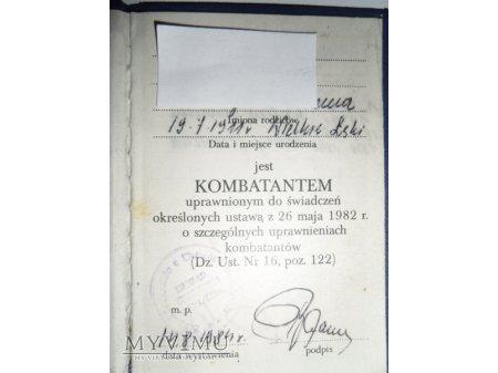 Legitymacja Zbowidowska.