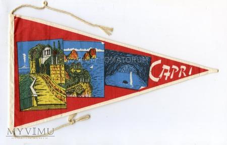 Proporczyk souvenir - Włochy Capri 1963