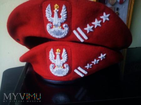 beret szkarłatny żandarmerii wojskowej