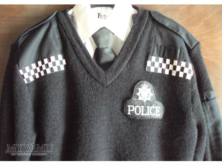 Mundur (sweter) brytyjskiego policjanta