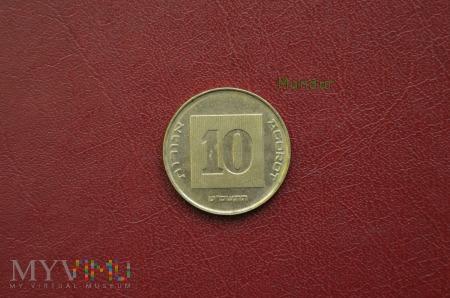 Монета 10 agorot 50 центов 2001 года цена