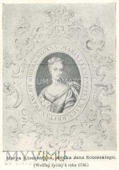 Sobieska Klementyna - wnuka Jana III Sobieskiego