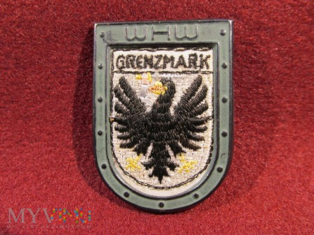 GRENZMARK- herby okręgów granicznych- odznaka WHW