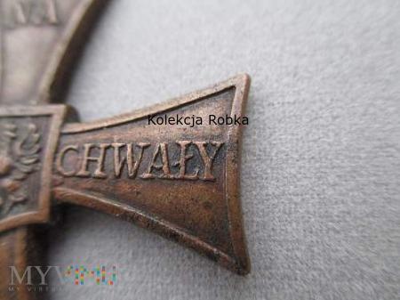 Krzyż Walecznych. Potrójne nadanie. Krogulec # 7