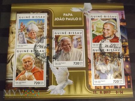 Duże zdjęcie Znaczki świata - Papież Jan Paweł II