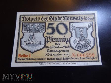 Notgeld 50 pfennig Nowa Sól