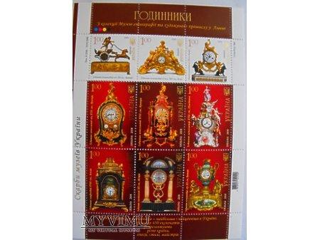 Seria znaczków poczty ukraińskiej
