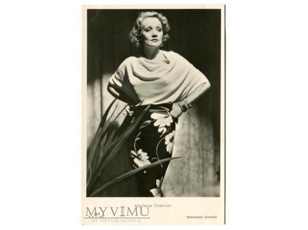 Marlene Dietrich Ballerini Fratini Postcard 2982