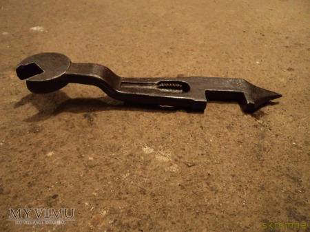 klucz niemieckiego kawalerzysty
