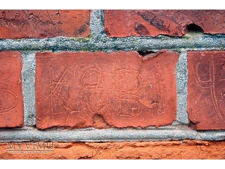 """Duże zdjęcie """"Stara Prochownia"""" - budynek A - inskrypcja #023"""