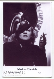 Marlene Dietrich Swiftsure Postcards 17/9