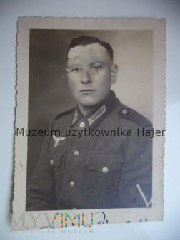 Zdjęcie żołnierza Wehrmacht