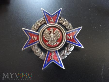 Numerowana Odznaka Absolwent WAM - wzór 2