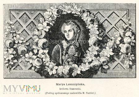 królowa Maria de domo Leszczyńska