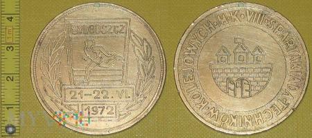 Medal kolejowy - społeczny Spartakiady TK
