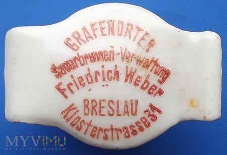 Grafenorter Friderich Weber Breslau