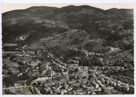 Lamastre - widok ogólny - lata 50-te