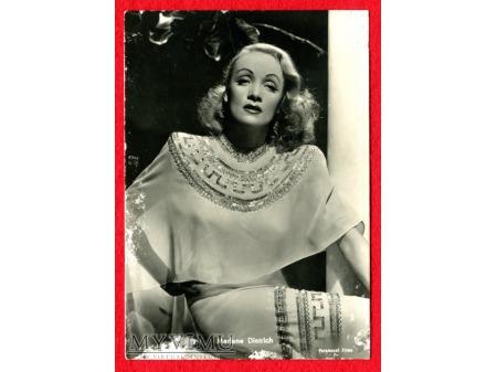 Marlene Dietrich Ballerini Fratini Postcard