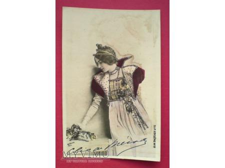 Cléo de Mérode piękna Ballerina z Belle époque