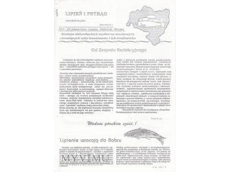 Lipień i pstrąg Dolnego Śląska 1'1994