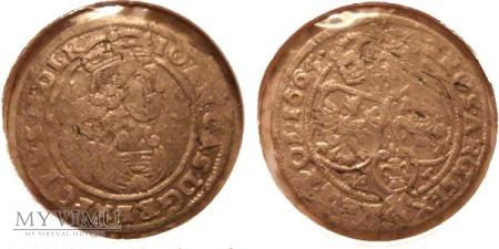 Szóstak Jan II Kazimierz 1665
