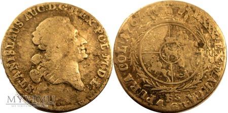 Złotówka (4 grosze) 1767 SAP - R