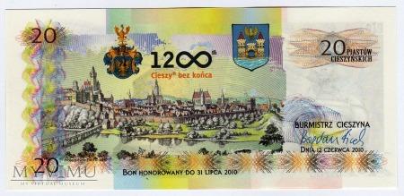 Bon Miejski : 20 Piastów Cieszyńskich
