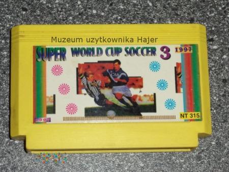 WORLD CUP SOCCER SUPER 3 Kartridż Pegasus