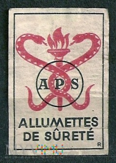 APS ALLUMETTES DE SURETE'