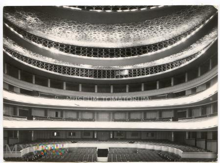 Warszawa - Teatr Wielki wnętrza - 1966