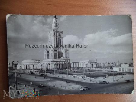 Duże zdjęcie WARSZAWA Pałac Kultury i Nauki