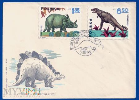 Zwierzęta prehistoryczne.5.3.1965.a