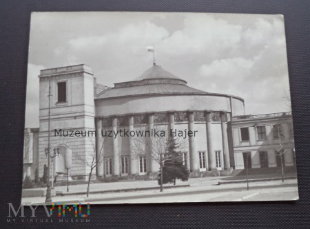 Duże zdjęcie WARSZAWA - Gmach Sejmu