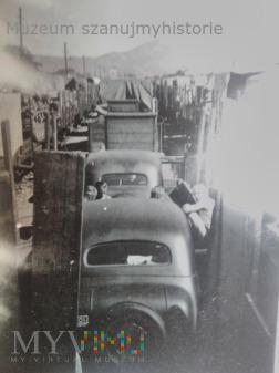 niemieckie transporty z wojskiem w Rumunii