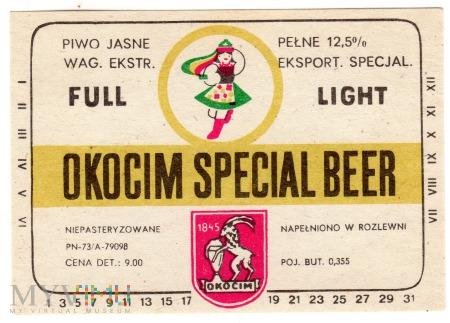 OKOCIM SPECJAL BEER