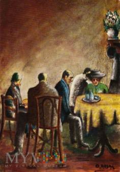 Coppia al caffe 1927
