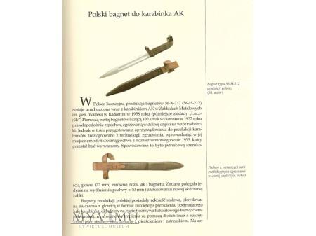 Polski bagnet AK58