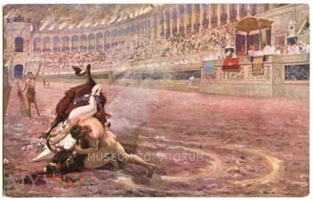 Quo Vadis - Ligia na byku - Styka