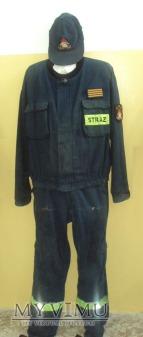 Duże zdjęcie Mundur koszarowy PSP granatowy (lata 90-2000)