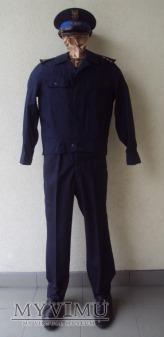 Mundur służbowy letni porucznika pożarnictwa