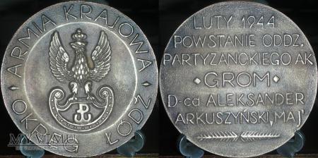 089. Powstanie oddziału partyzanckiego AK GROM