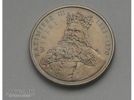 Kazimierz III Wielki, 100 zł, 1987 rok.