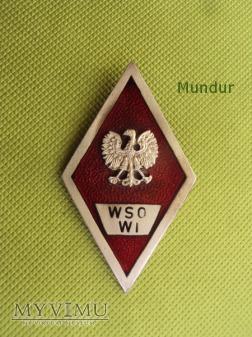 Odznaka WSO Wojsk Inżynieryjnych