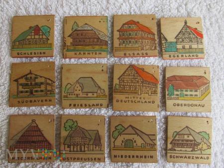 Drewniane odznaki KWHW